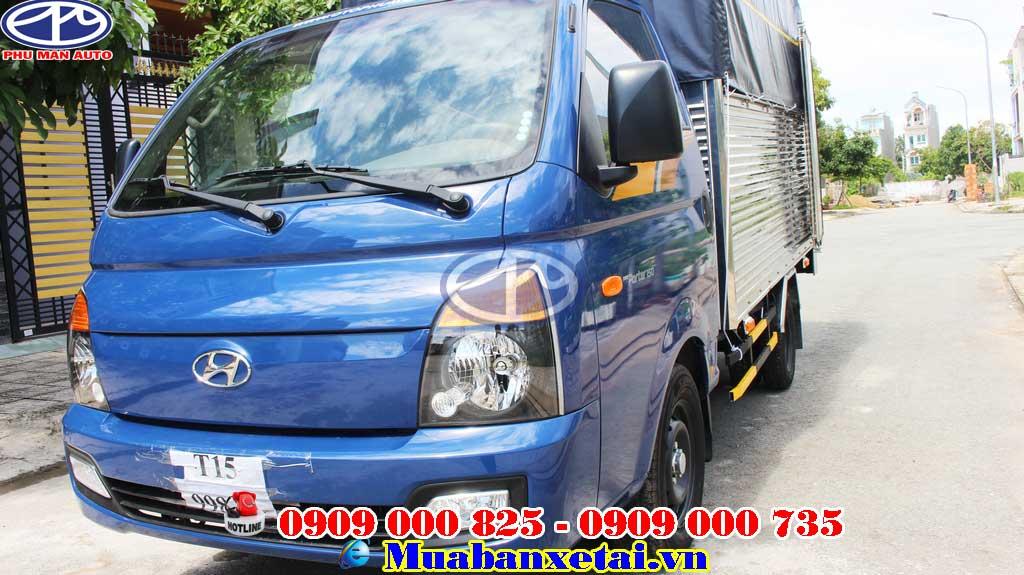 Xe tải hyundai H150 Porter 1.5 tấn - Thùng mui bạt