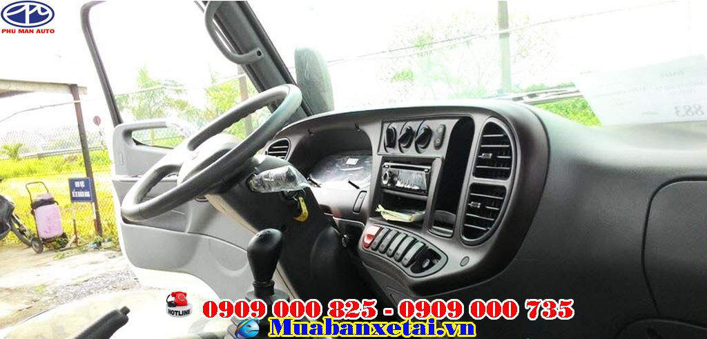 Xe tải Hyundai HD700 Đồng Vàng 7 Tấn Thùng Mui Bạt