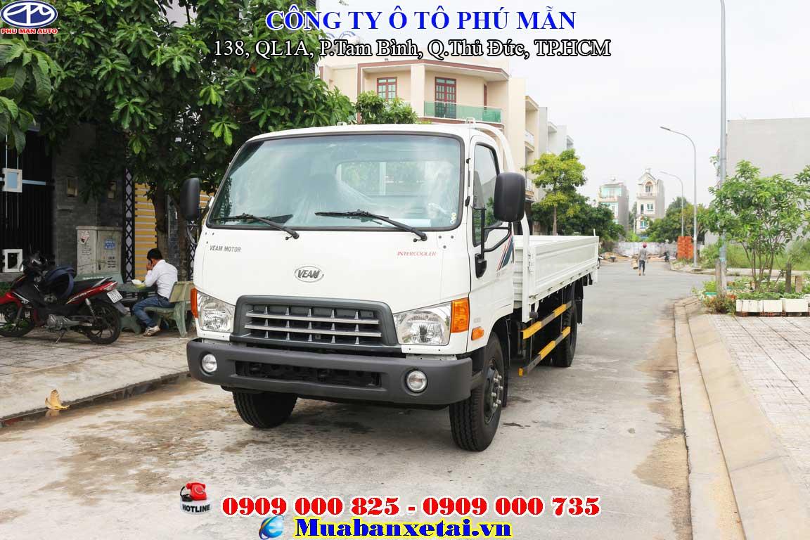 Xe tải Hyundai 8 tấn HD800