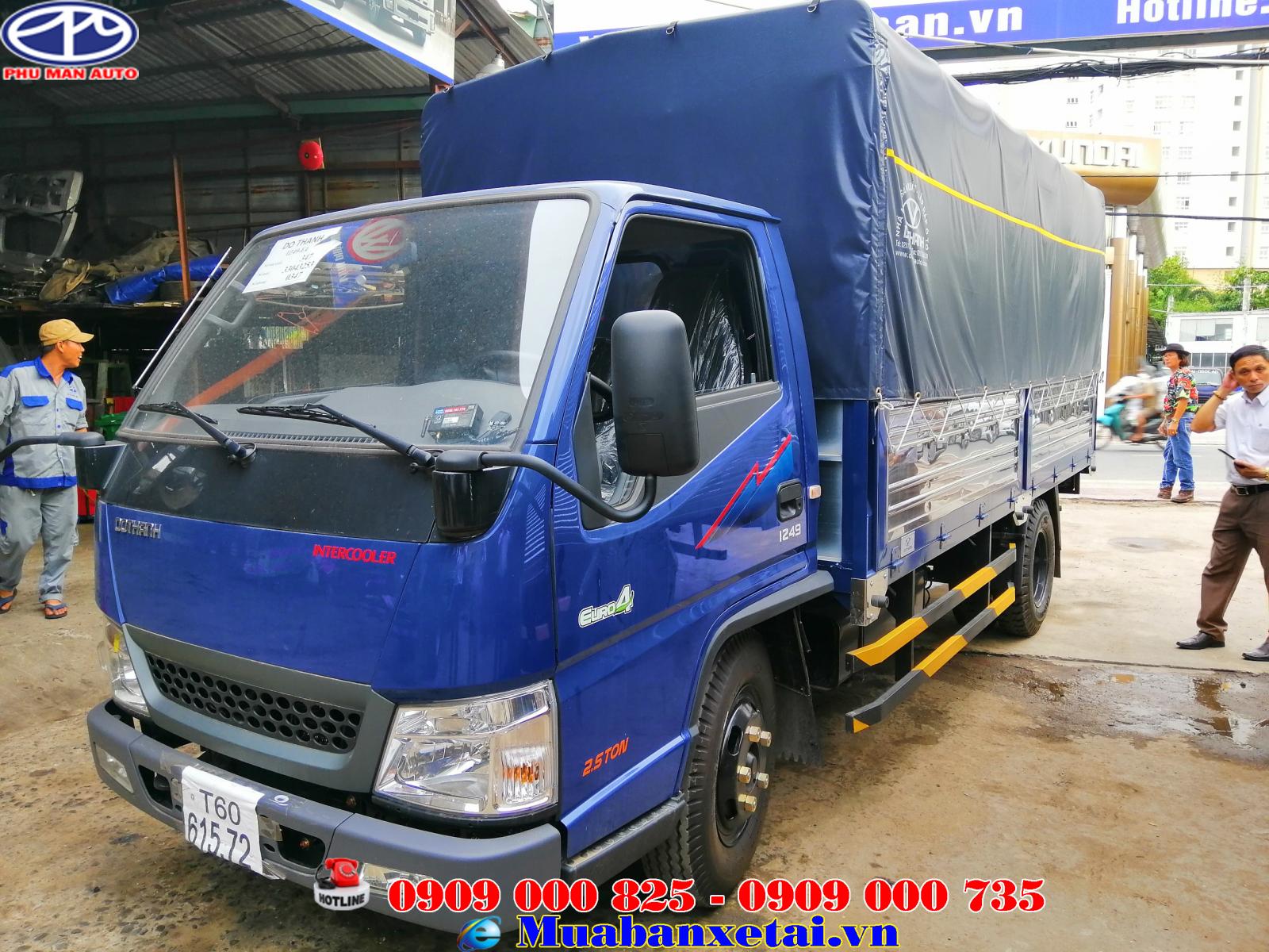 Xe tải Hyundai IZ49 2.4 tấn Euro 4