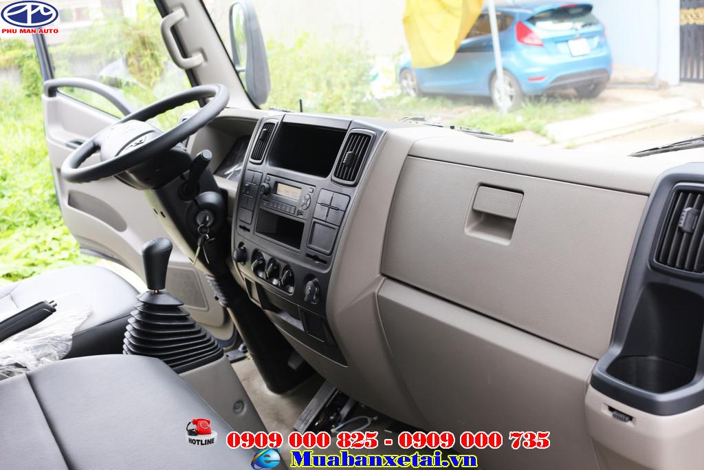 Hệ thống giải trí với AM/FM/Radio Xe tải Đô Thành IZ65