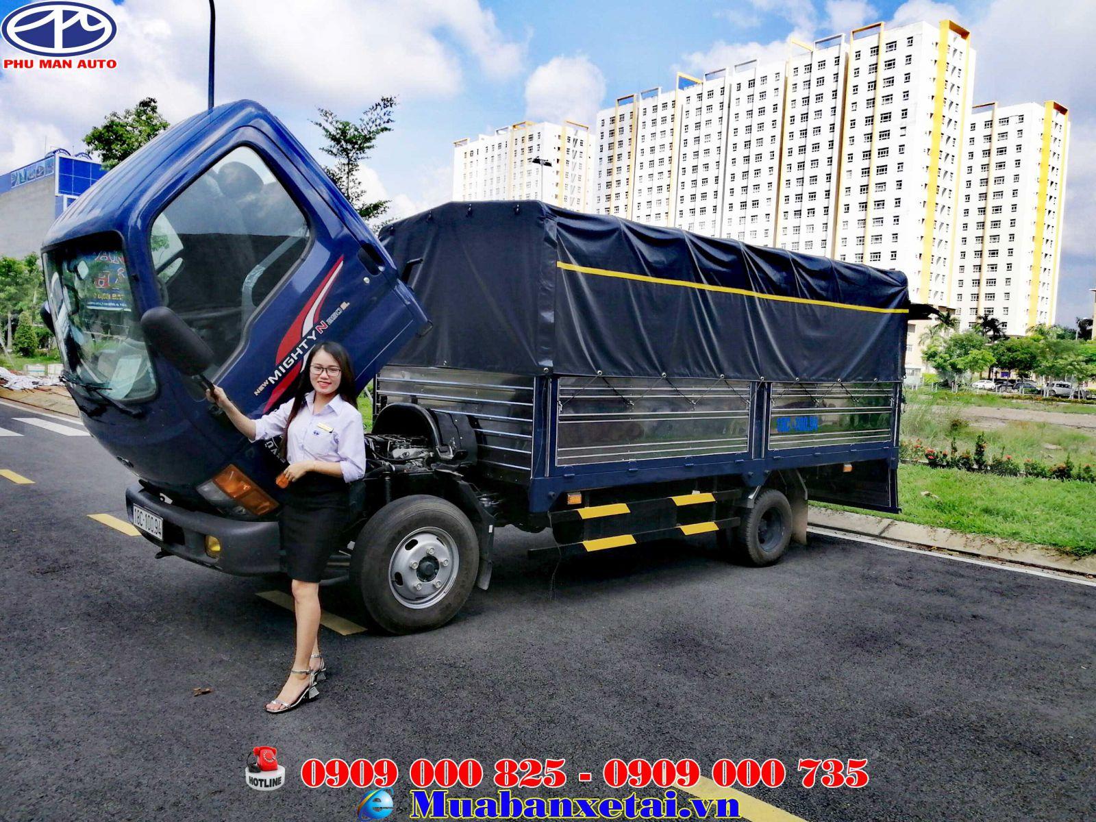 Xe tải Hyundai N250SL thùng dài 4m4