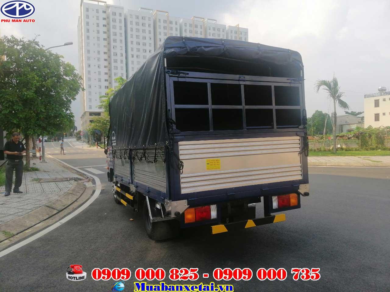 Xe tải Hyundai thùng 4m3