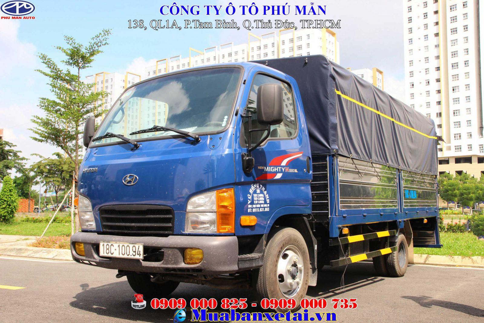 Xe tải Hyundai N250SL 2.4 tấn