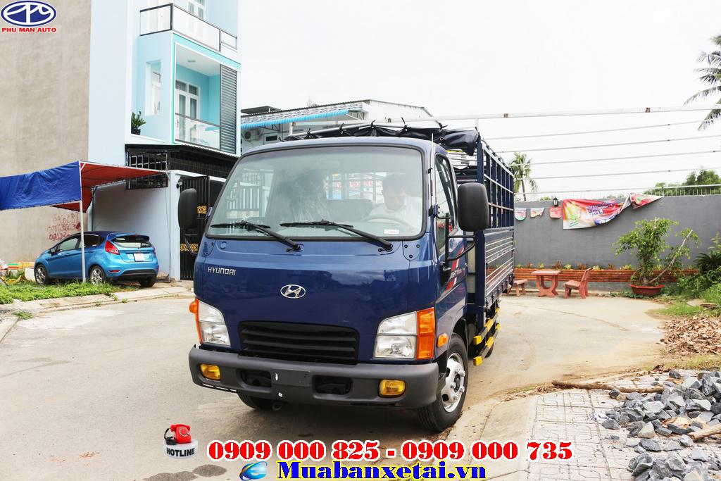hyunndai n250 sẽ là lựa chọn tuyệt vời cho chiếc xe tải nhẹ vào phố.