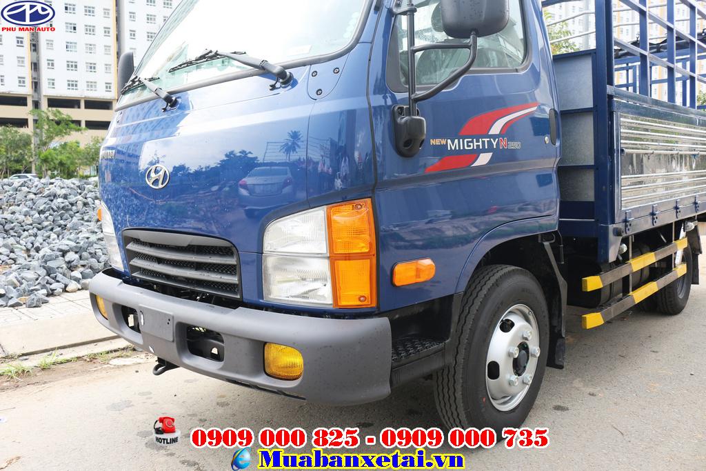 Hyundai N250 thùng  bạt có giá vô cùng cạnh tranh với các dòng xe khác cùng phân khúc trên thị trường