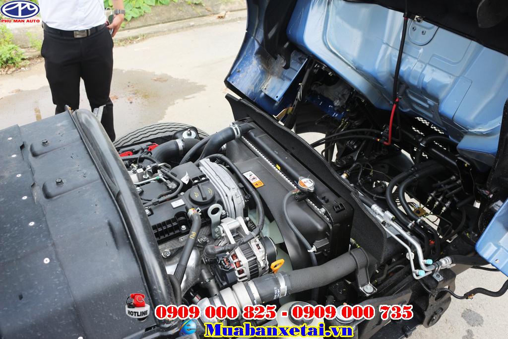 Xe sử dụng hộp số sàn 6 cấp  5 tiến 1 lùi giúp lái xe vận hành xe một cách dễ dàng.