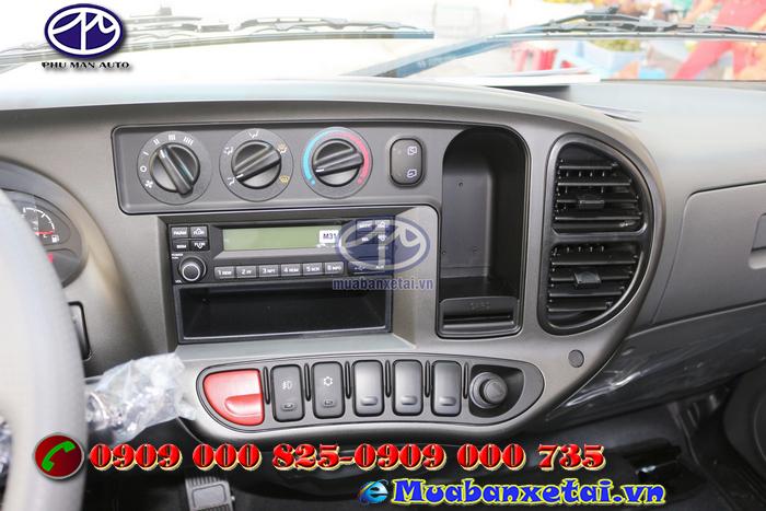 Hệ thống giải trị Xe tải Hyundai 2.45 tấn N250