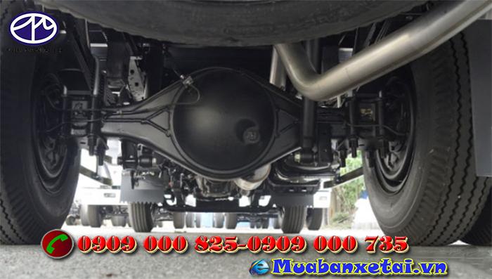 Động cơ xe tải Isuzu 1.5 tấn thùng kín QKR77FE4