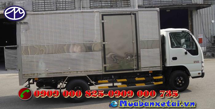 Xe tải Isuzu 1.5 tấn thùng kín