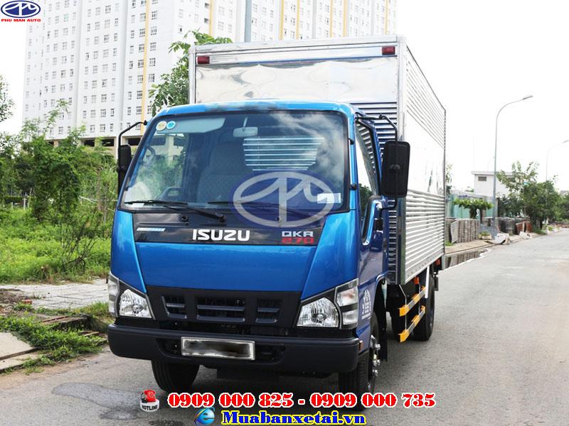 Đèn xe tải Isuzu 1.9 tấn thùng kín QKR270
