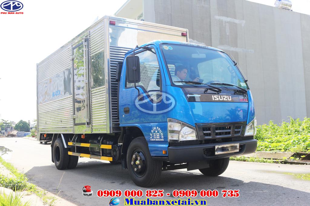 Thùng xe tải Isuzu 1.9 tấn thùng kín QKR270
