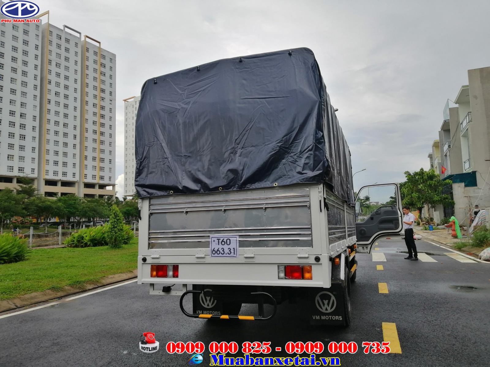 Xe tải isuzu 3T5 thùng mui bạt đời 2019