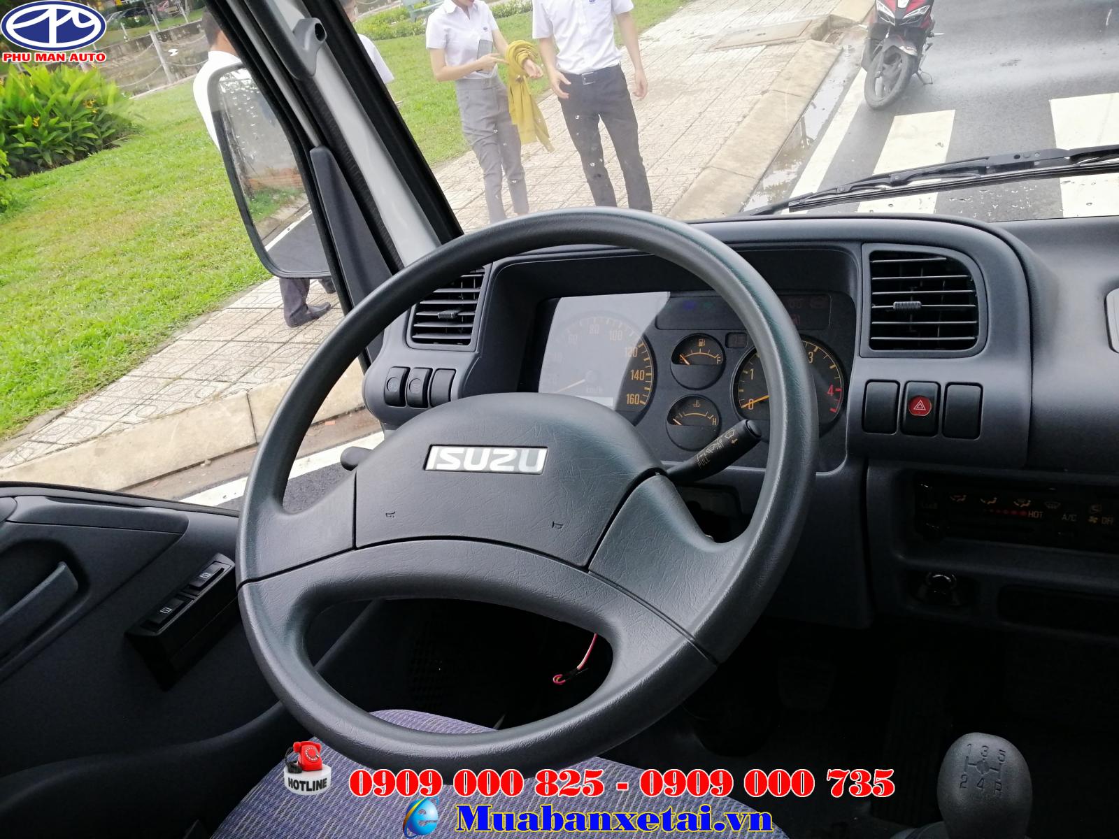 Vô lăng xe tải Isuzu 3t49