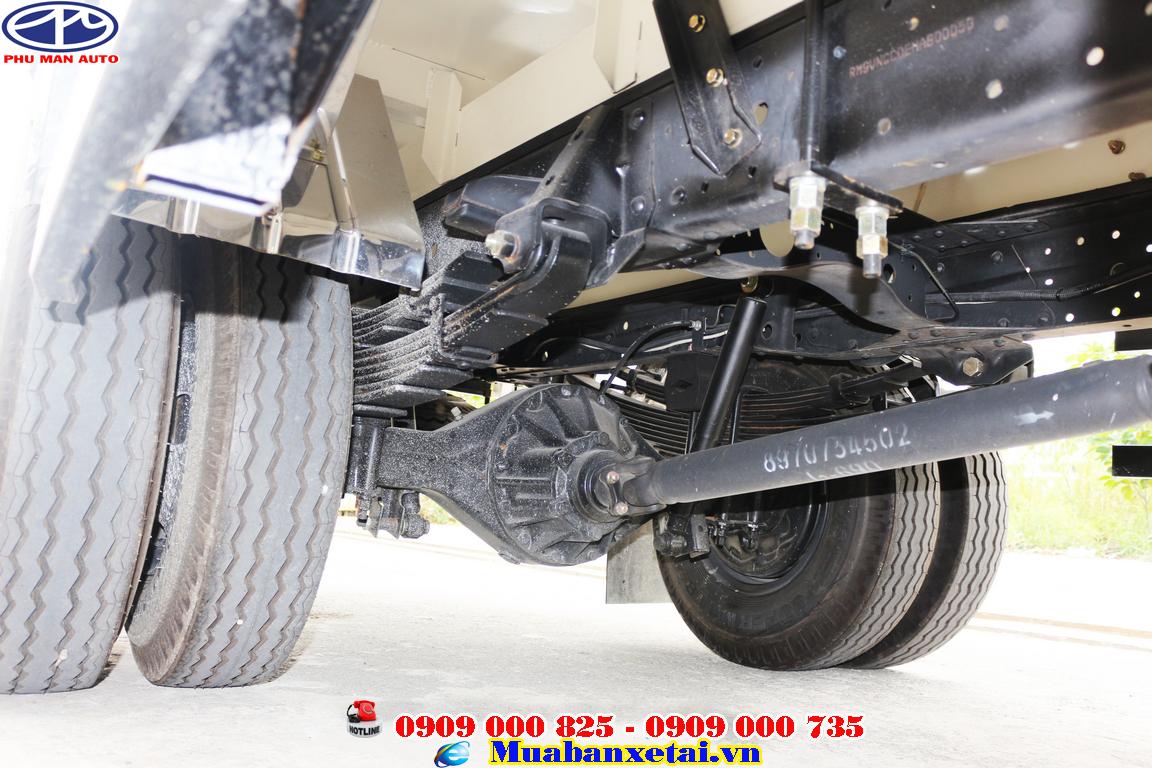 Xe tải isuzu 3t5 sử dụng động cơ diesel JB1-TC1 mang lại hiệu suất làm việc mạnh mẽ