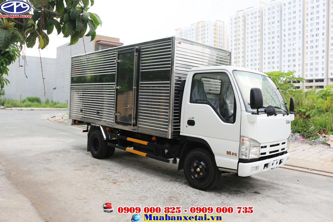 Xe tải isuzu 3t5 do nhà máy Vĩnh Phát Motors nhập khẩu