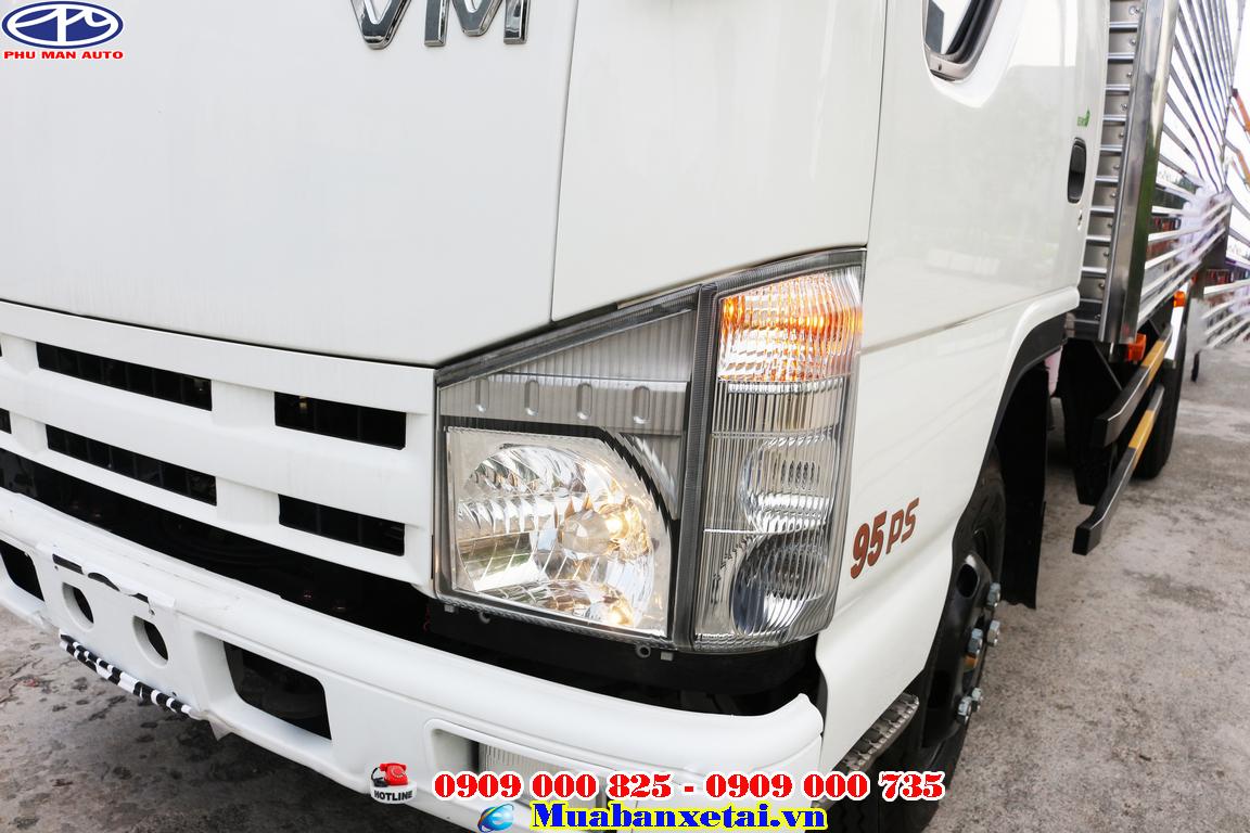 Xe tải isuzu 3t5 được thiết kế mang vẻ đẹp của thương hiệu Isuzu