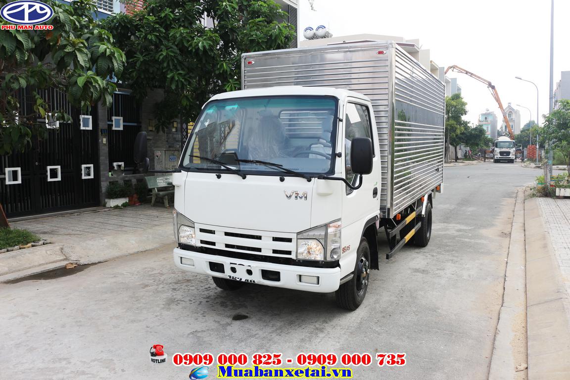 Xe tải isuzu 3t5 là dòng xe với mẫu mã và kiểu dáng đẹp