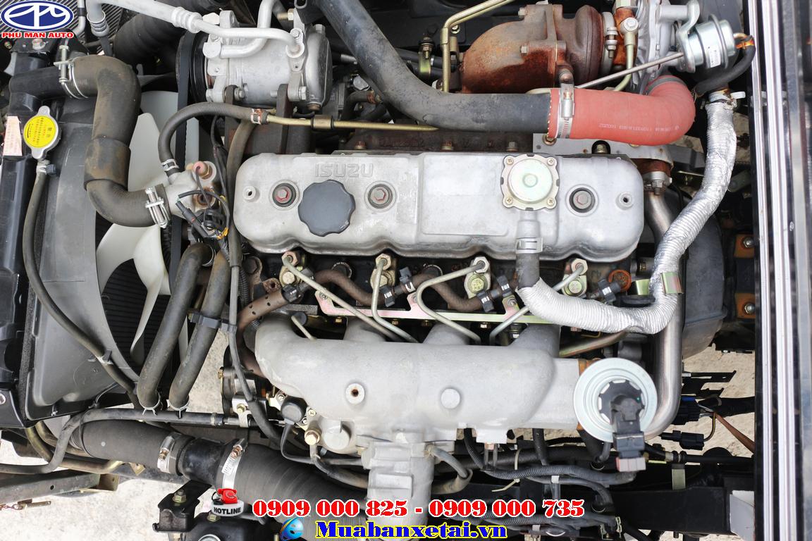 Xe tải Isuzu 3t5 tăng khả năng tiết kiệm nhiên liệu
