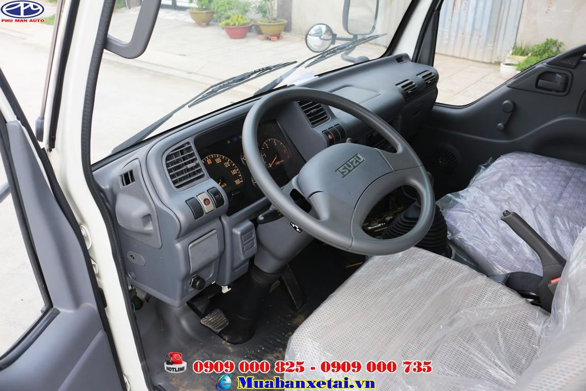 Nội thất xe tải isuzu 3t5