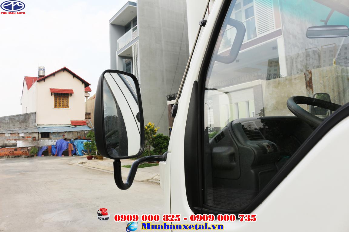 Gương chiếu hậu Xe tải isuzu 3t5 với thiết kế bản rộng