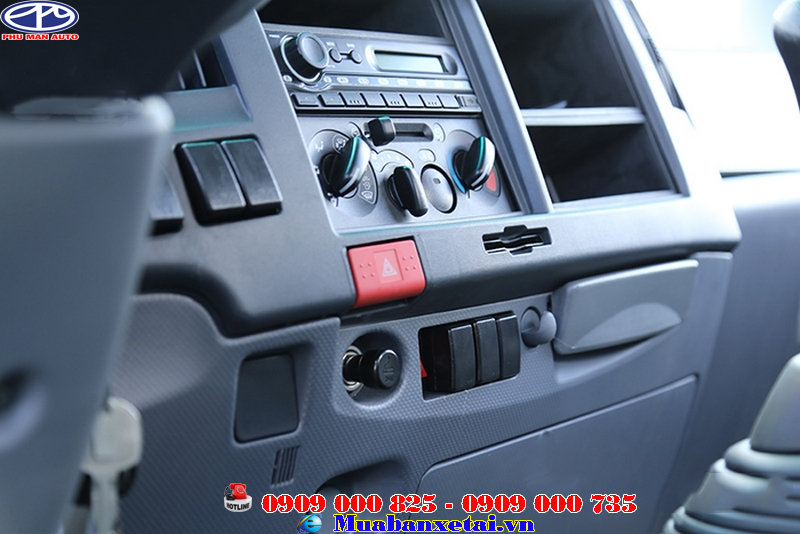Bảng điều khiển xe tải Isuzu Vĩnh Phát 4 chân 18 tấn