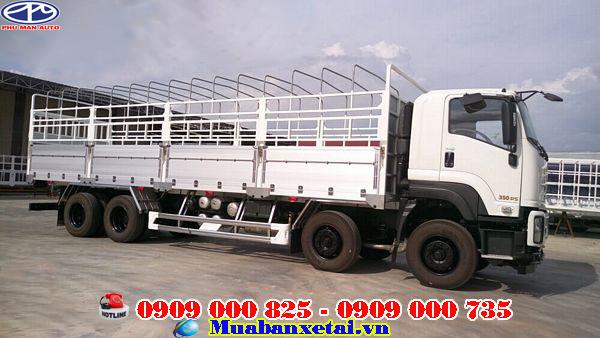 Xe tải ISUZU Vĩnh Phát 4 chân 18 tấn