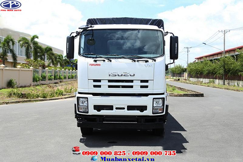 Cabin xe tải Isuzu Vĩnh Phát 4 chân 18 tấn