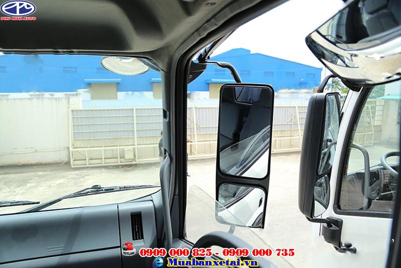 Xe tải ISUZU Vĩnh Phát 4 chân 18 tấn thiết kế cabin vuông mạnh mẽ chắc chắn
