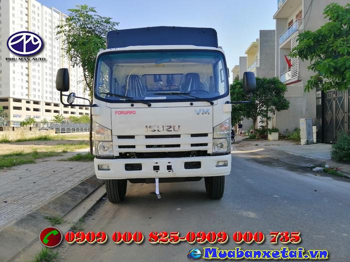 Xe tải isuzu 1.9 tấn thùng dài 6.2 mét