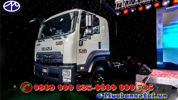 Nội thất xe tải Isuzu 8T2 thùng kín