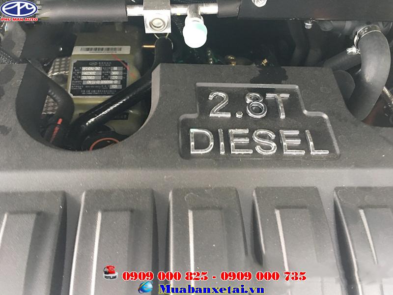 Xe du lịch jac 16 M628 với hộp số sàn 6 cấp