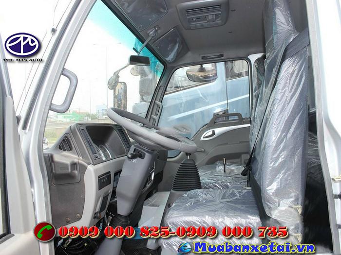 Xe tải Jac 1.9 tấn thùng mui bạt