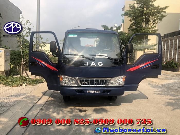 Xe tải Jac 2.4 tấn thùng dài 4m3 máy Isuzu
