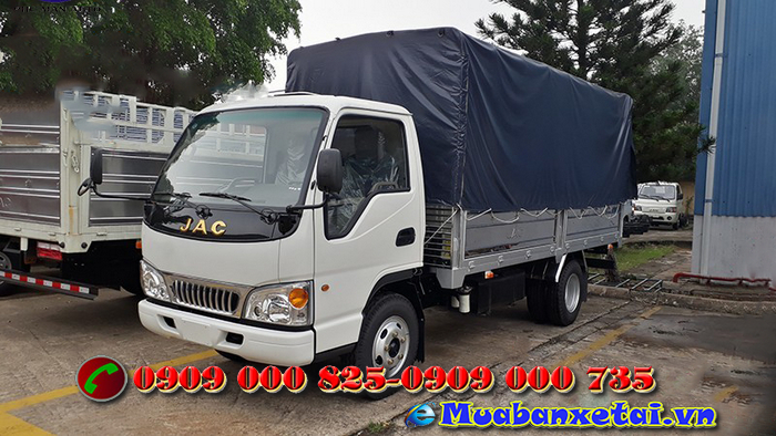 Xe tải jac 2t4 máy Isuzu