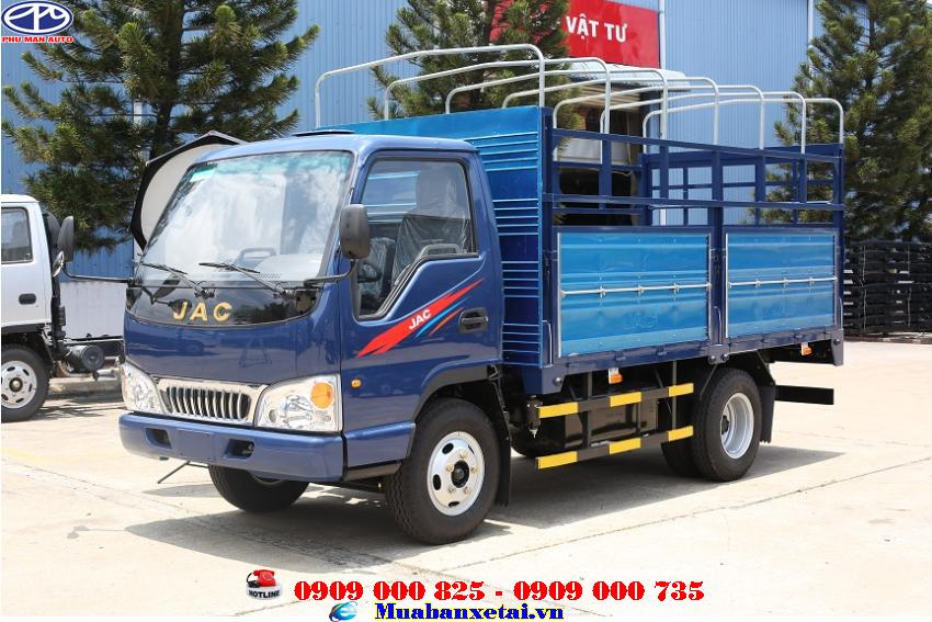 Xe tải Jac 2T4 thùng mui bạt - HFC1030K4Xe tải Jac 2T4 thùng mui bạt - HFC1030K4