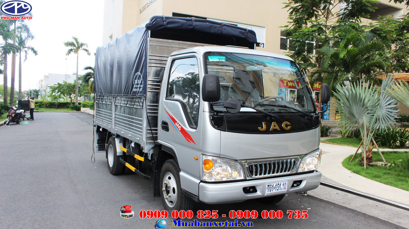 Xe tải Jac 2T4 thùng mui bạt - HFC1030K4