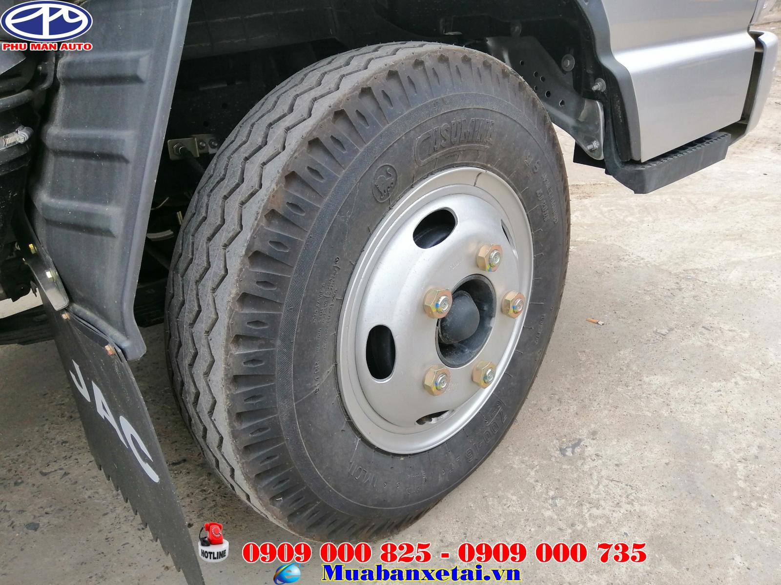 Sườn xe tải jac 2t4