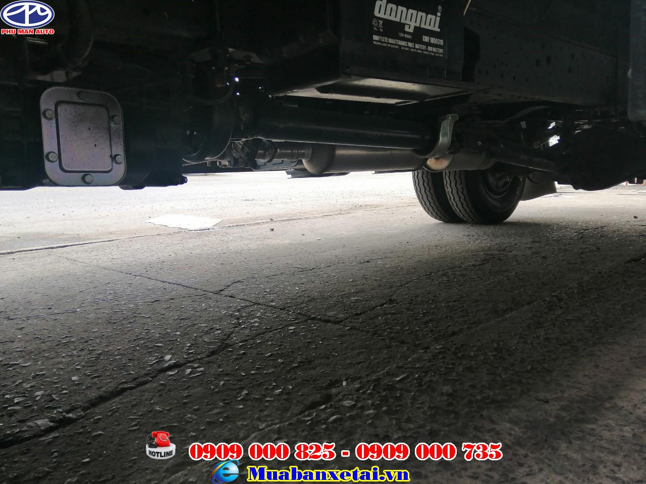 Xe tải Jac 2T4 thùng kín | Jac 2.4 tấn thùng kín