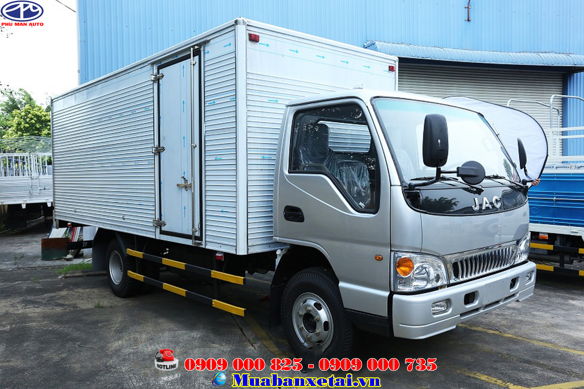 Xe tải Jac 4T95 Thùng kín | Jac 4.95 tấn Thùng kín