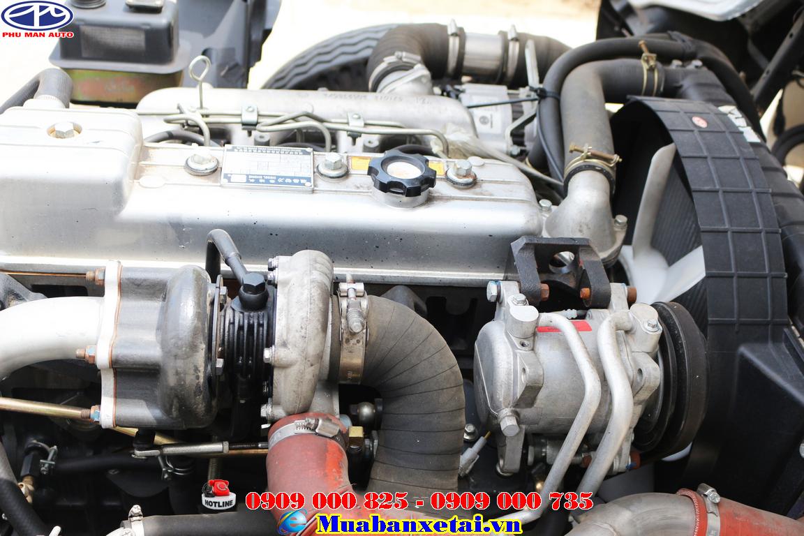 Động cơ xe tải Jac 4T95 Thùng kín | Jac 4.95 tấn Thùng kín