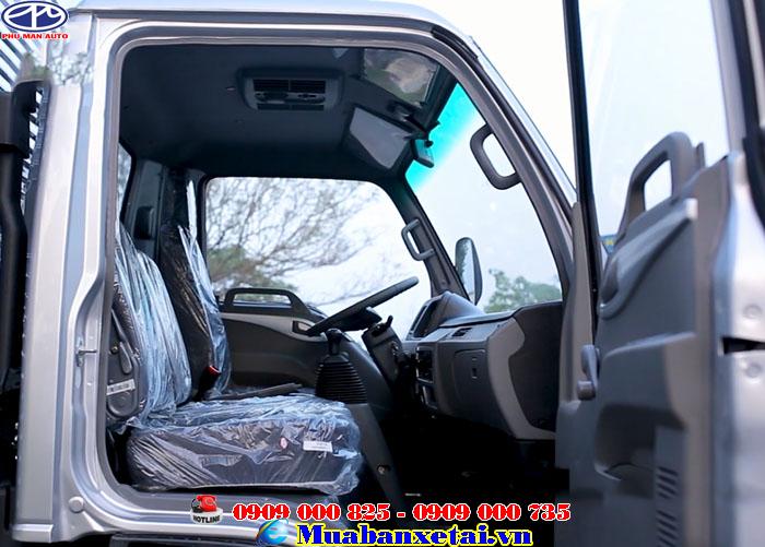 Xe tải Jac 4T95 Thùng kín | Jac 4.95 tấn Thùng kín  được thiết kế rộng rãi cho 3 người