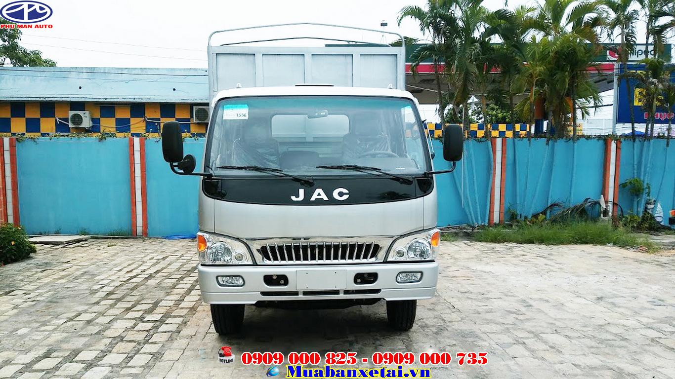 Xe tải jac 6t4 thùng mui bạt