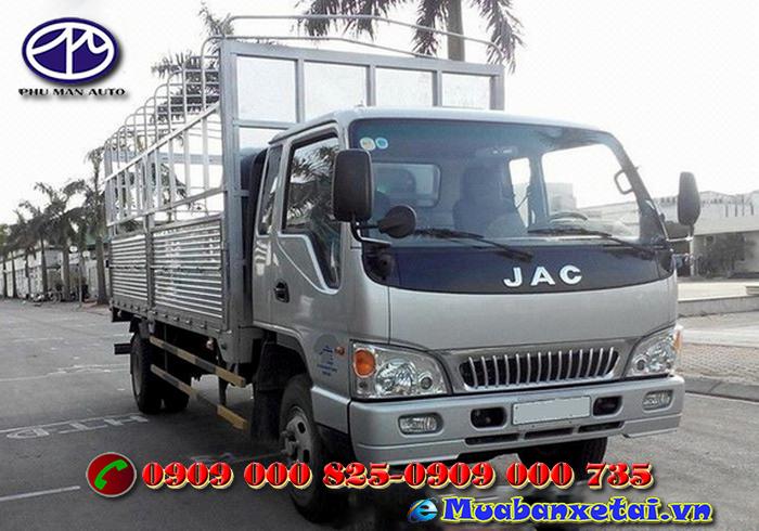 Vẻ đẹp ngoại thất tinh tế của xe tải Jac 7T25.