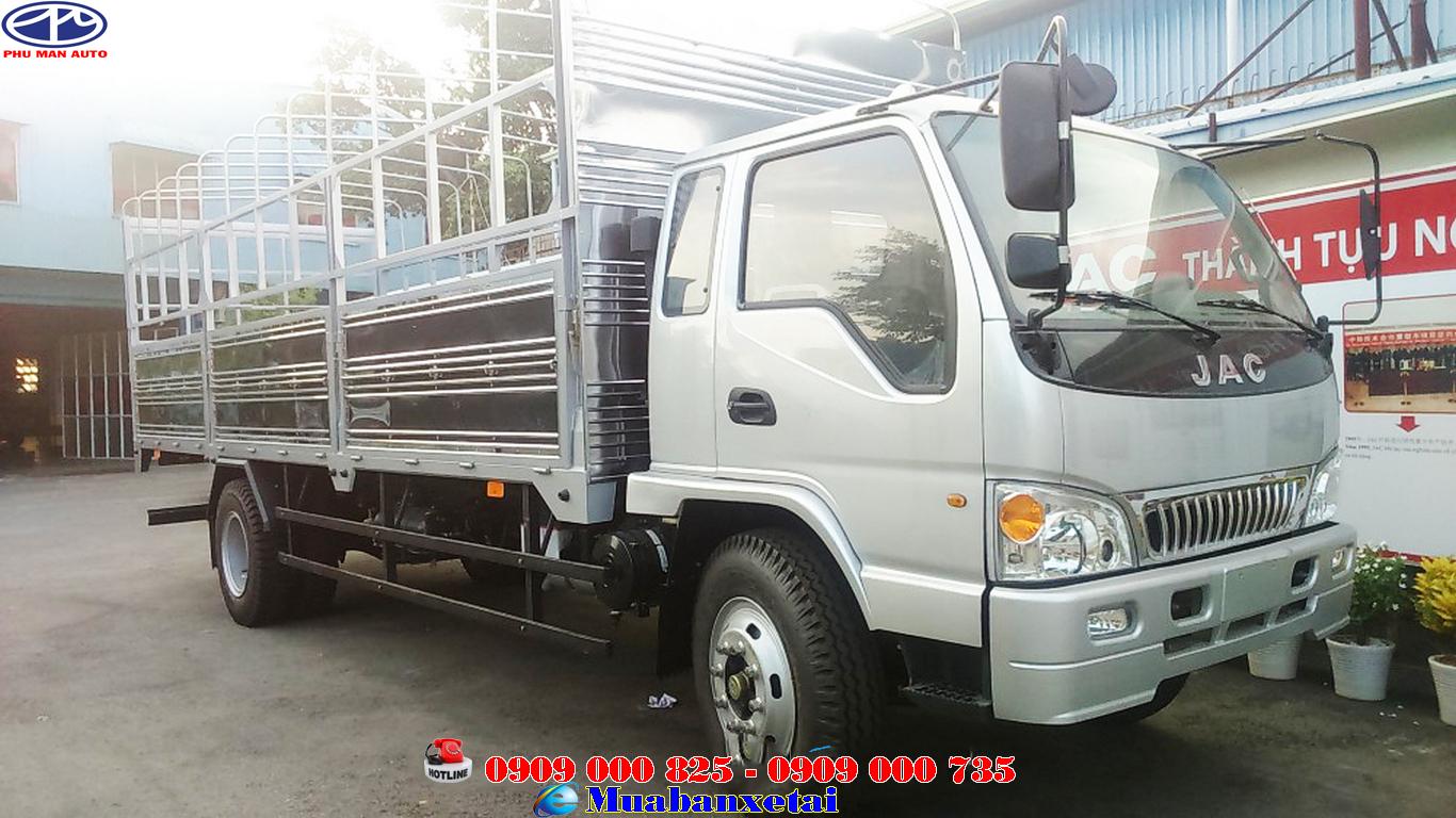 Xe tải Jac 9.1 tấn thùng bạt