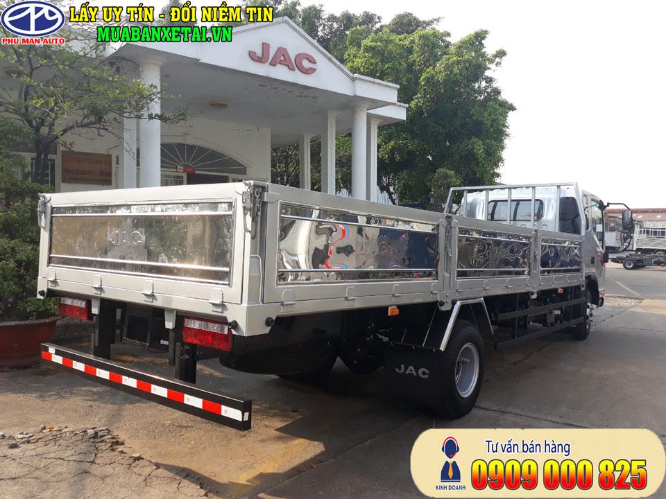 Xe tải Jac N650 Plus 6T5 thùng lửng
