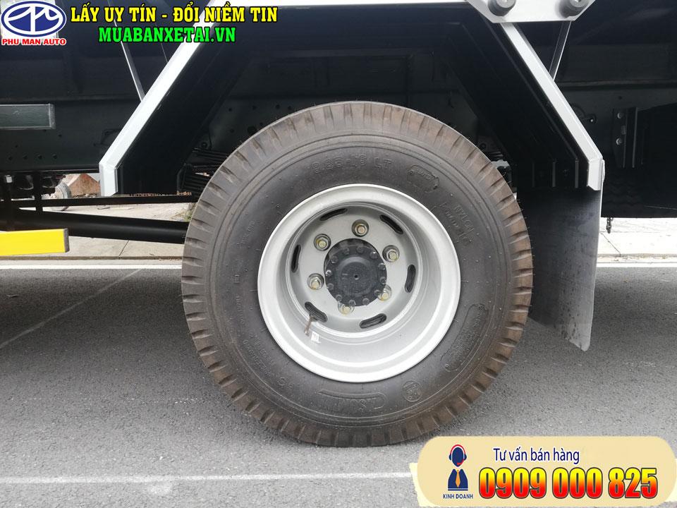 Lớp xe tải Jac 6.5 tấn n650 plus