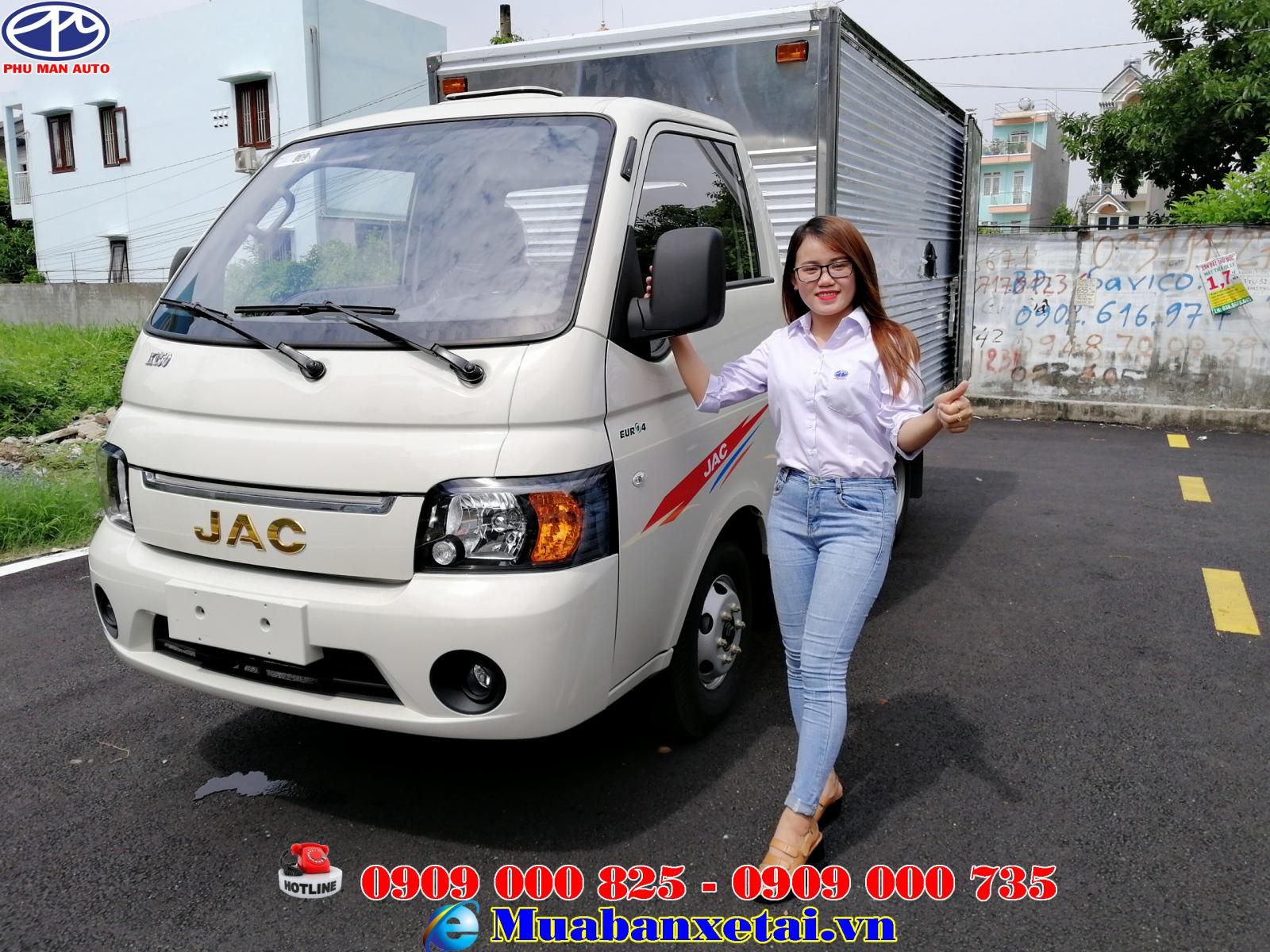 Xe tải Jac X150 1.5 tấn