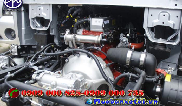 Động cơ xe tải Jac X5 1.5 tấn thiết kế theo tiêu chuẩn công nghệ Isuzu khí  thải euro 4