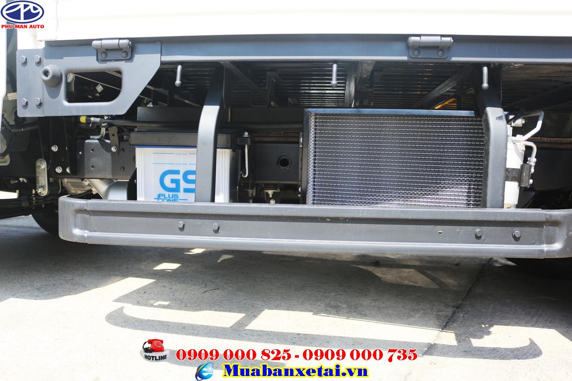 Xe tải Jac 990kg X99 Euro 4 - thùng bạt cánh dơi
